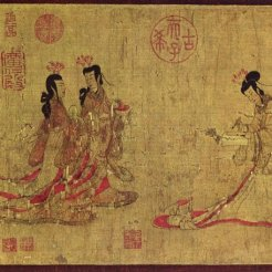 Admonitions of the Court Instructress By Gu Kaizhi
