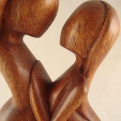 "12"" Bali Abstract Statue Couple Glory of Love Sculpture (detail). By Rachana world. http://www.rachanaworld.com/"